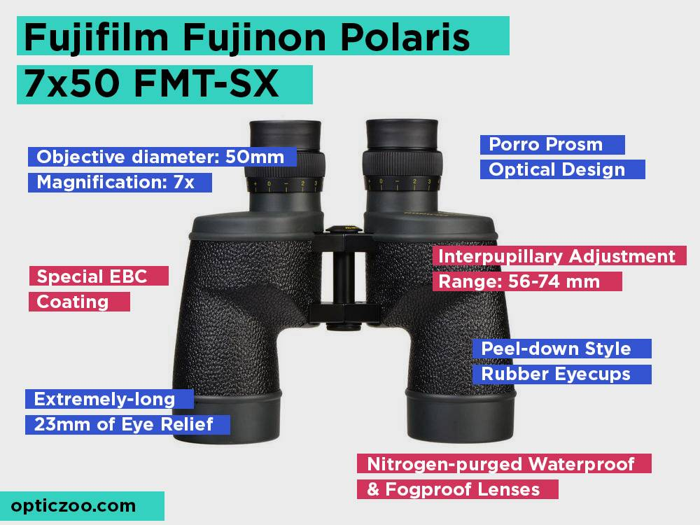 Fujifilm Fujinon Polaris 7x50 FMT-SX Review, Pros and Cons. Check our Top Pick 2018