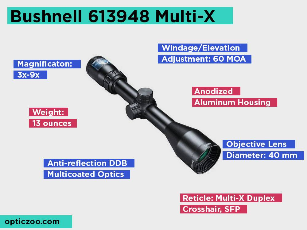 Bushnell 613948 Multi-X Review, Pros and Cons.