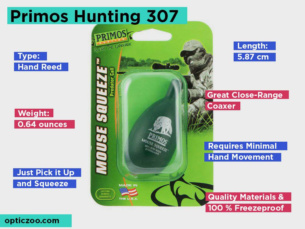 Primos Hunting 307 Review, Pros and Cons