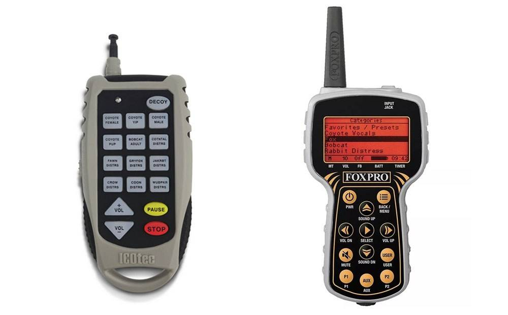 Remote controls Electronic Coyote Calls