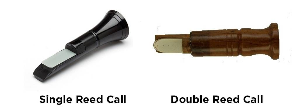 Single reed and double-reed duck calls