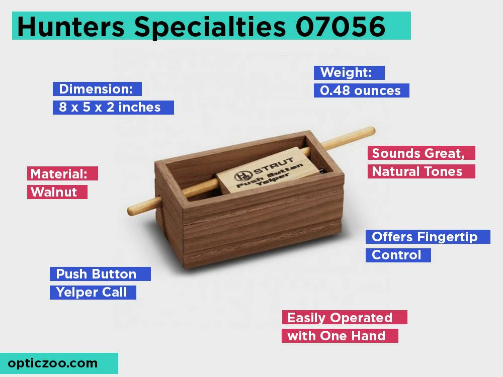 Hunters Specialties 07056 Review, Pros and Cons