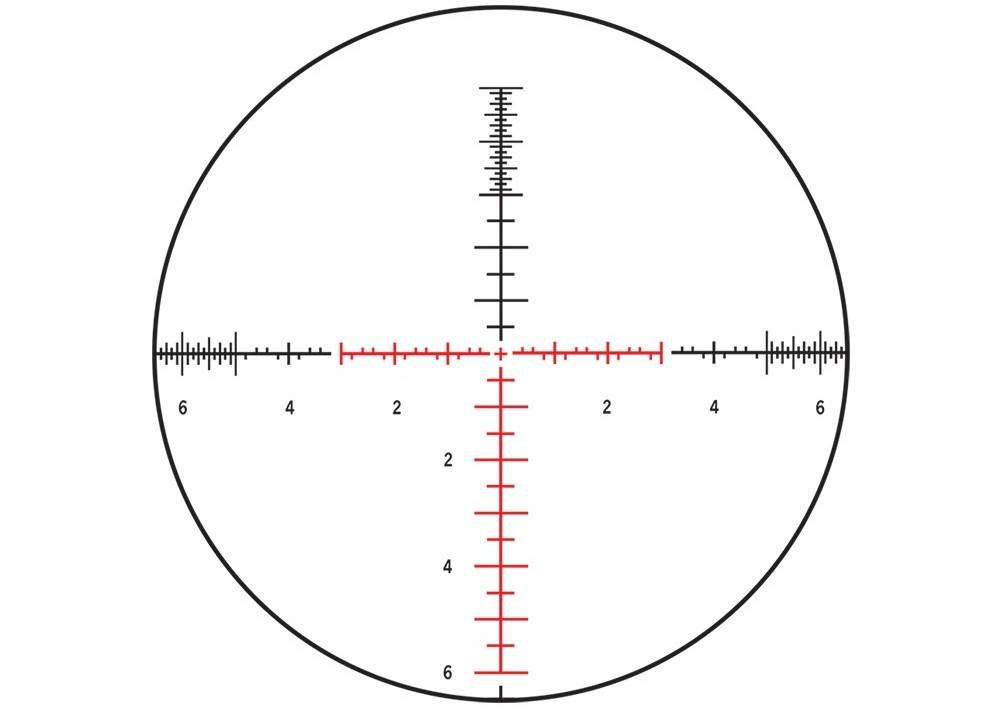 Steiner Model 5122 T5Xi 5-25x56 has an illuminated SCR reticle