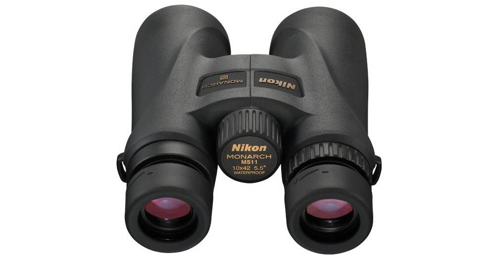 Nikon 7577 Monarch 5 10x42uses extra-low dispersion glass and multicoated lenses