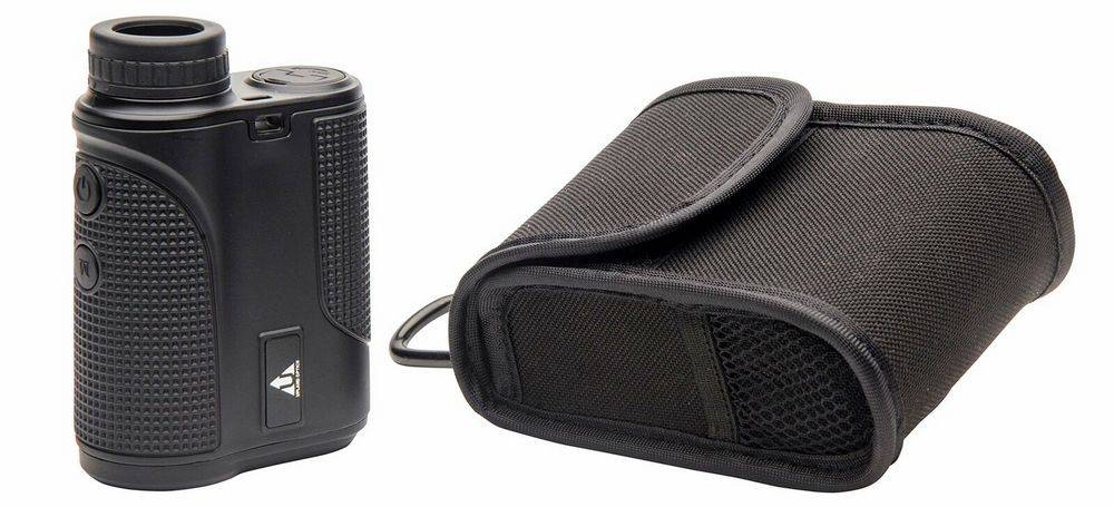 Upland Optics Perception 1000 Laser Rangefinder comes with a carrying case