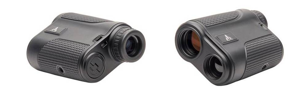 Upland Optics Perception 1000 Laser Rangefinder has a 6x magnification and 17mm objective lens