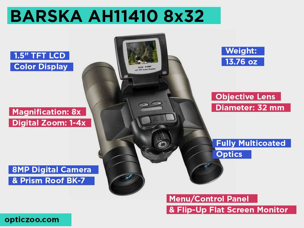 BARSKA AH11410 8x32 Review, Pros and Cons