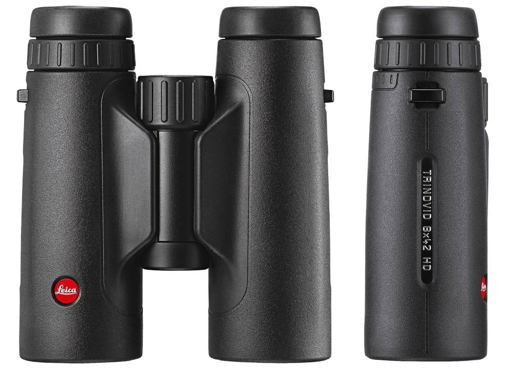 Leica 40318 Trinovid 8x42 HD is made of aluminum and is covered with a soft rubber
