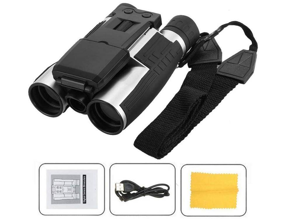 Most binoculars with camera come with manuals
