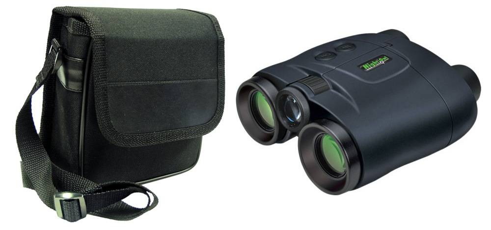 Night Owl NONB2FF has a padded neck strap and case