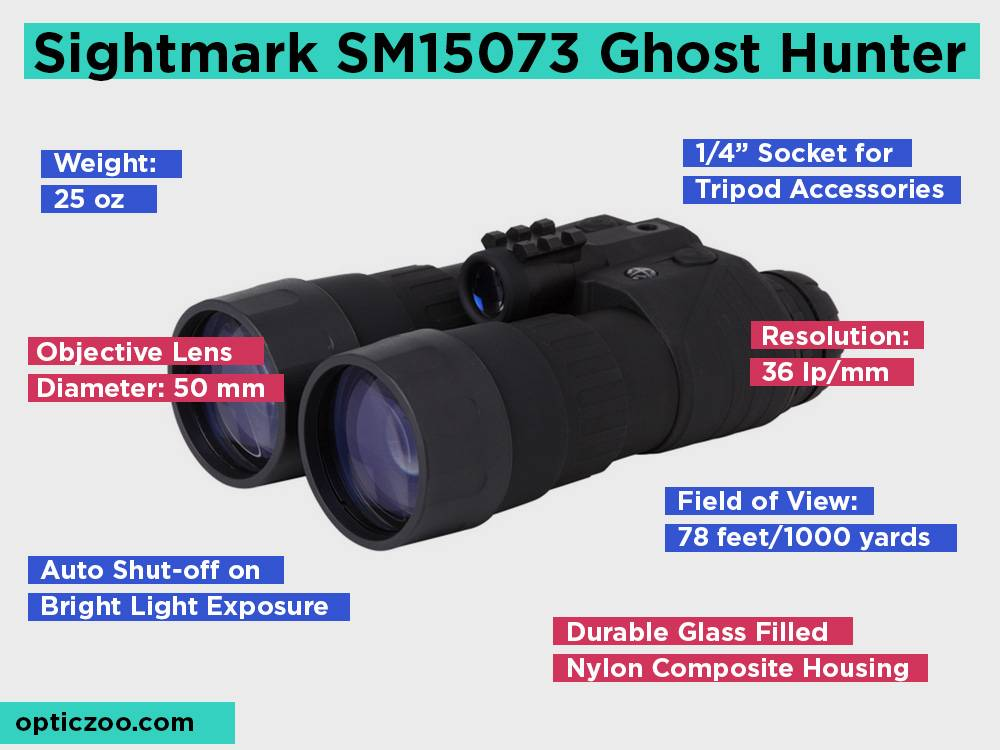 Sightmark SM15073 Ghost Hunter Review, Pros and Cons