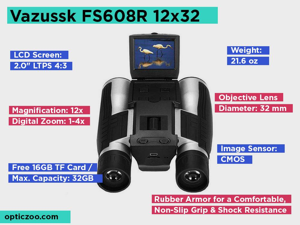 Vazussk FS608R 12x32 Review, Pros and Cons